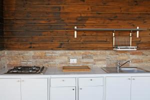 La cucina del bungalow